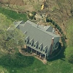 Tony Rodham's House (Birds Eye)