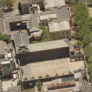 Old Melbourne Gaol (Birds Eye)