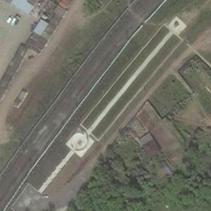 Aeroflot Flight 821 crash site (Bing Maps)