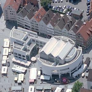 'Stadthaus Ulm' by Richard Meier (Birds Eye)