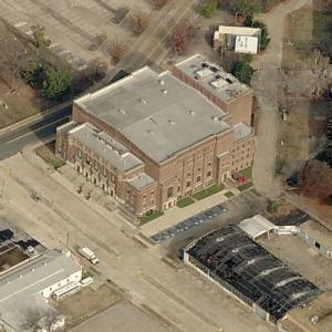 Shreveport Municipal Memorial Auditorium (Birds Eye)
