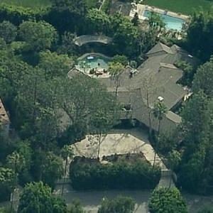 Megan Ellison's House (Birds Eye)