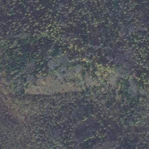 Aeroflot Flight 593 crash site (Bing Maps)
