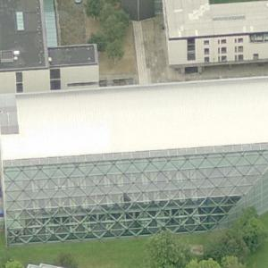 'Faculty of Law, University of Cambridge' by Norman Foster (Birds Eye)