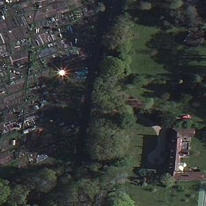 Strange twinkle near Headley Grange (Birds Eye)