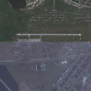 Uktus Airport (Bing Maps)