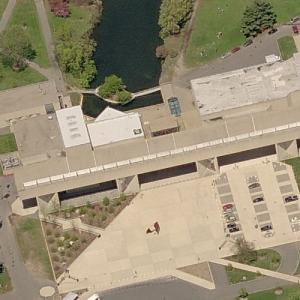 'Fine Arts Center' by Kevin Roche (Birds Eye)