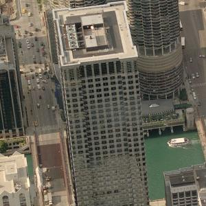'Leo Burnett Building' by Kevin Roche (Birds Eye)
