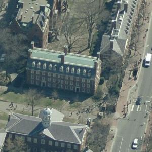 Massachusetts Hall (Birds Eye)