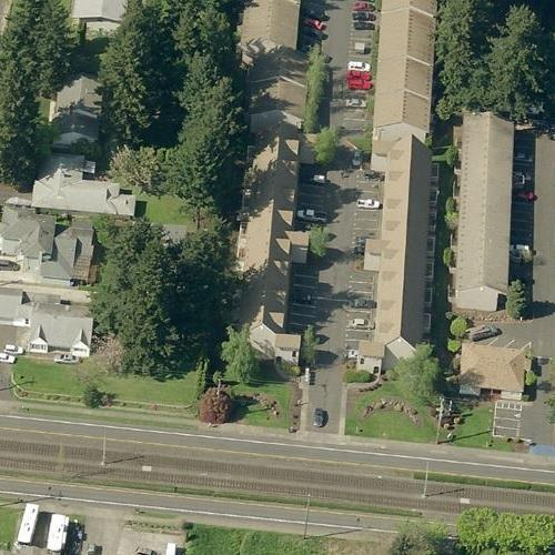 United Airlines Flight 173 crash site in Portland, OR (Google Maps)