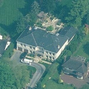 Zlatan Ibrahimović's house (Birds Eye)