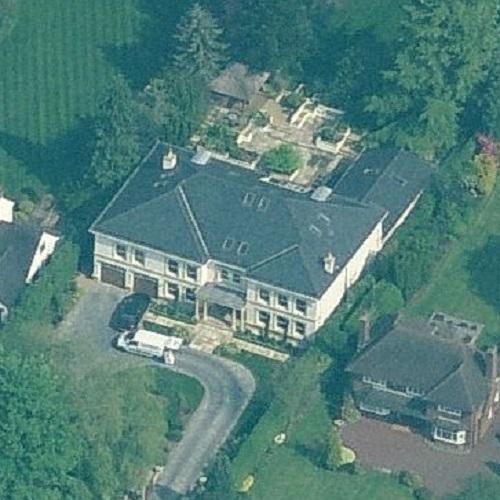 Zlatan Ibrahimović's house in Bowdon, United Kingdom ...