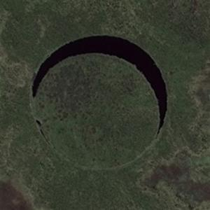 """The Eye"" in Argentina (Bing Maps)"