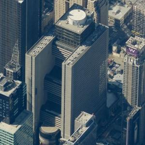 'New York Marriott Marquis' by John Portman (Birds Eye)