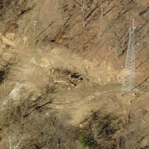 Southern Airways Flight 932 crash site (Birds Eye)