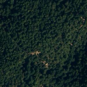 Dan-Air Flight 1903 crash site (Bing Maps)
