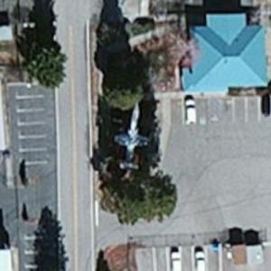 F-104A (Bing Maps)