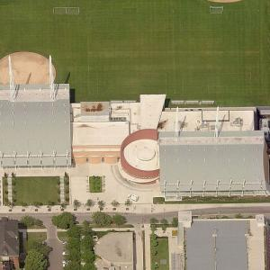 'Gerald Ratner Athletics Center' by Cesar Pelli (Birds Eye)