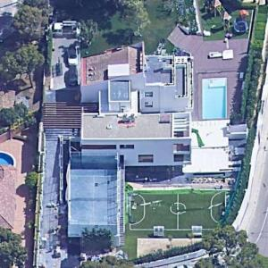 Lionel Messi's House (Bing Maps)