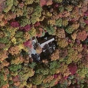 Andy Roddick & Brooklyn Decker's House (Bing Maps)