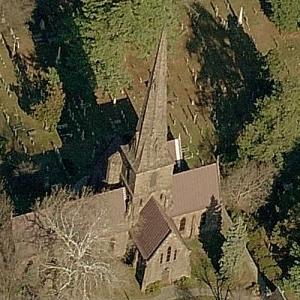 'St. Mary's Episcopal Church' by Richard Upjohn (Birds Eye)