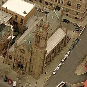'St. Peter's Episcopal Church' by Richard Upjohn (Birds Eye)