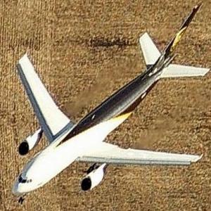 UPS Airlines in flight (Birds Eye)