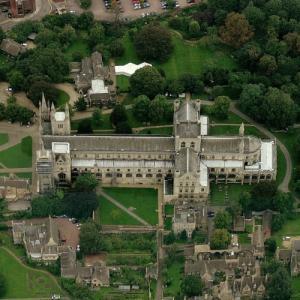 Peterborough Cathedral (Birds Eye)