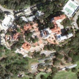 Hearst Castle (Bing Maps)