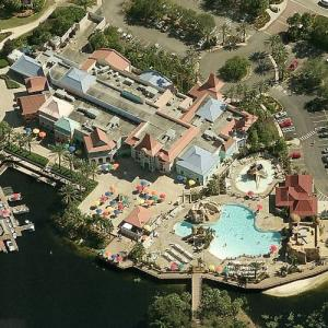 Disney's Caribbean Beach Resort (Birds Eye)