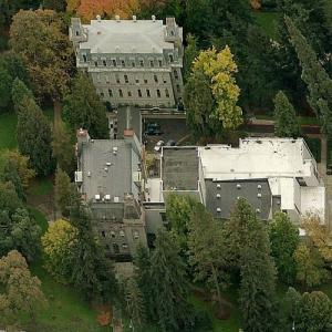 Deady and Villard Halls, University of Oregon (Birds Eye)