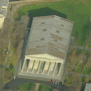 Founder's Hall, Girard College (Birds Eye)