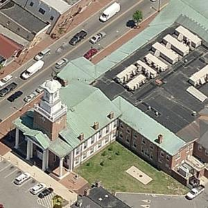 'Sussex County Courthouse' by William Strickland (Birds Eye)