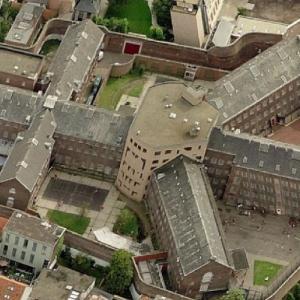 Prison of Antwerpen (Birds Eye)