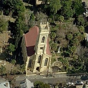 Unitarian Church in Charleston (Birds Eye)