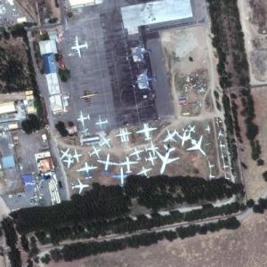 Manas aircraft boneyard (Bing Maps)