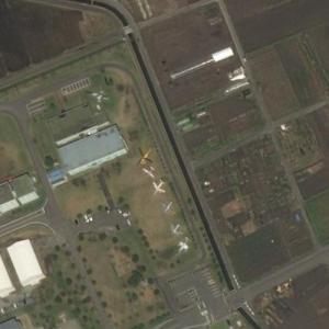 Miho aircraft static display (Bing Maps)