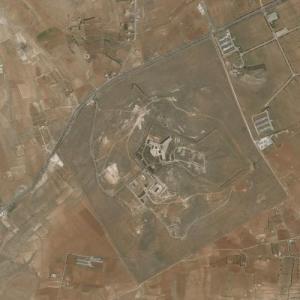 Sednaya Prison (Bing Maps)