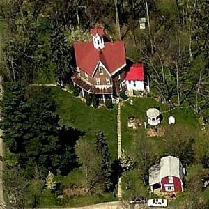 Ezekiel B. Zimmerman Octagon House (Birds Eye)