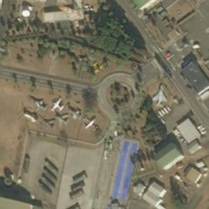 Nyutabaru Air Base aircraft static display (Bing Maps)
