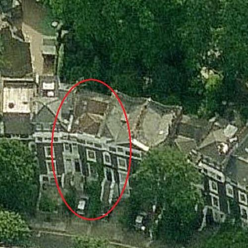 Daniel Craig and Rachel Weisz's House (Birds Eye)