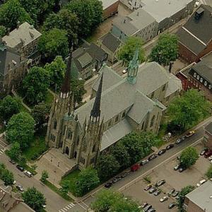 St. Dunstan's Basilica (Birds Eye)