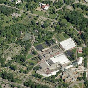 Montreal Botanical Garden (Birds Eye)
