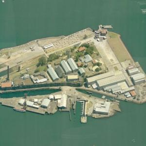 Cockatoo Island (Birds Eye)
