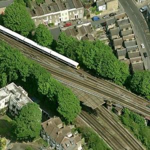Lewisham rail crash (12/4/1957) (Birds Eye)