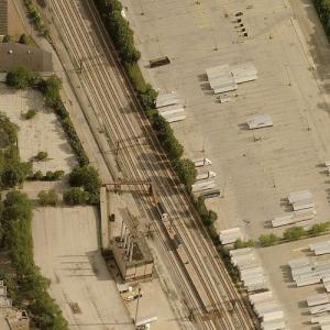 1972 Chicago commuter rail crash (Birds Eye)