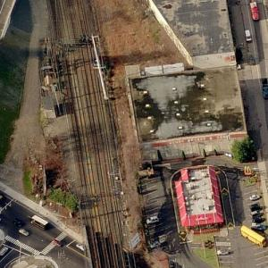 Fairfield train crash (5/17/2013) (Birds Eye)
