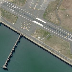 Delta Air Lines Flight 723 crash site (Birds Eye)