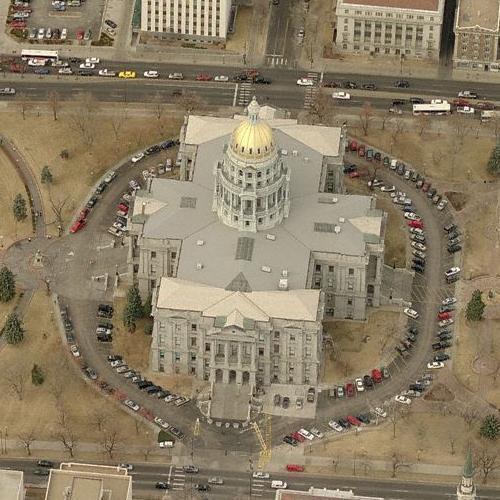 Colorado Capitol Building (Birds Eye)