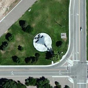 F-15B (Bing Maps)